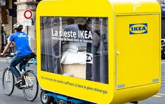 IKEA France Moving Sleeping Pods in Paris | HYPEBEAST - HYPEBEAST