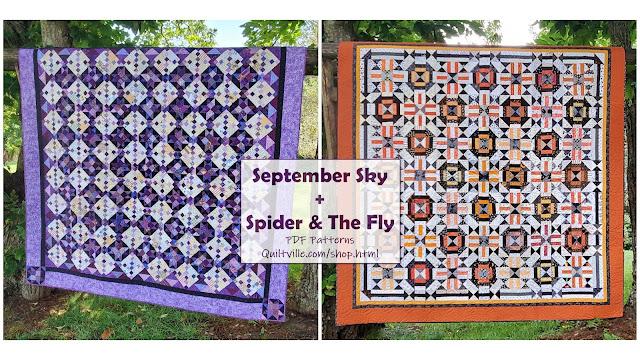 September Sky, Spider & The Fly!