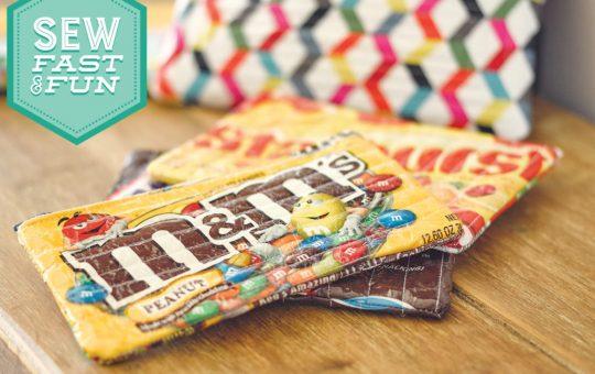 Sew Fast & Fun: Candy Bag Zipper Pouch